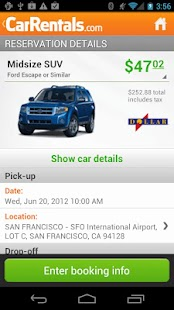 CarRentals- screenshot thumbnail