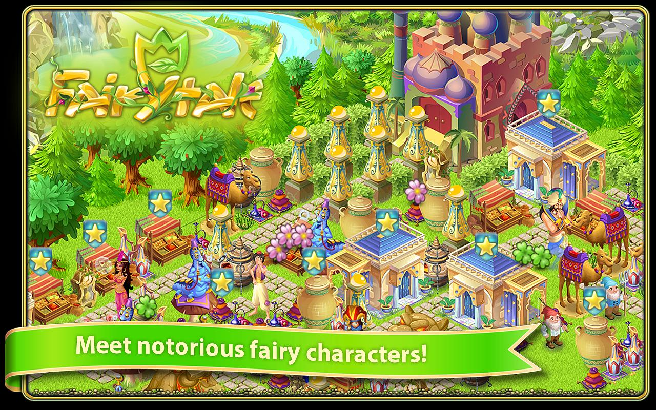 Fairy Day Farm City - screenshot