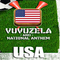 USA VUVUZELA and ANTHEM! logo