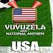 USA VUVUZELA and ANTHEM!