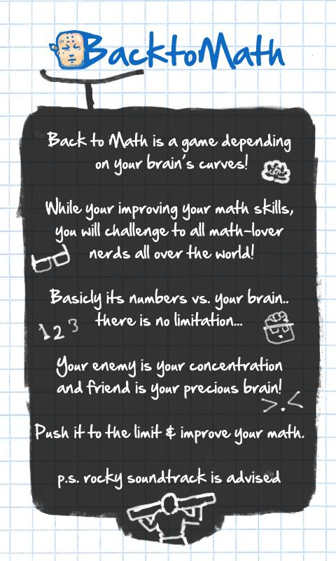 Back to Math - screenshot