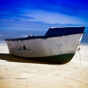 Beached by Crighton Klassen - Transportation Boats