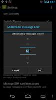 Screenshot of Messaging Pro G