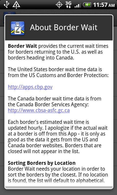 Border Wait- screenshot