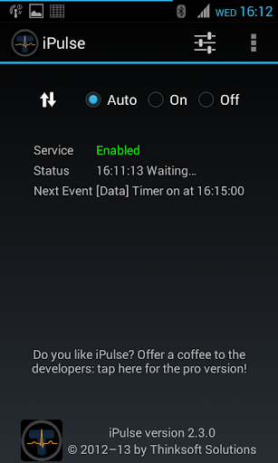 iPulse - Connection manager