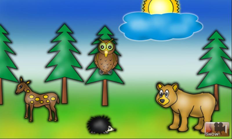 Funny Animals Puzzle for Kids- screenshot