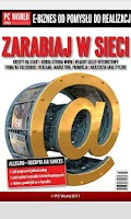 Screenshot of PC World - Zarabiaj w sieci