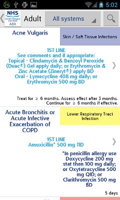 GP Antibiotics - screenshot