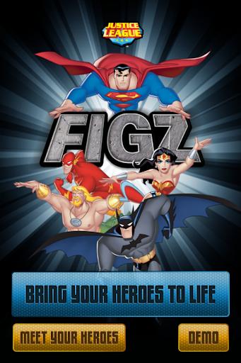 FIGZ Justice League: AR 娛樂 App-癮科技App