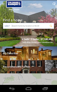 Real Estate - Coldwell Banker- screenshot thumbnail