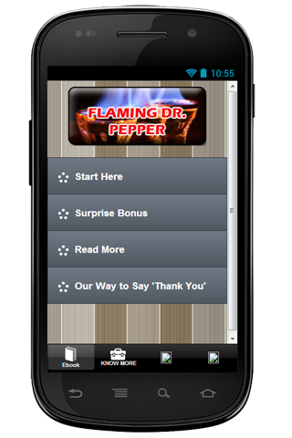 Cocktail Flaming Dr. Pepper - Android Apps on Google Play