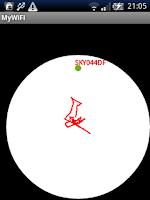 Screenshot of MyWiFi RADAR