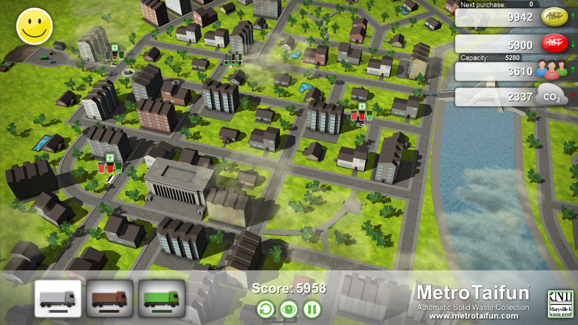 MetroTaifun Waste Collect Game- screenshot