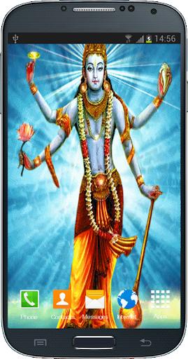 Lord Vishnu Live Wallpaper HD