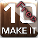 Make it 10 :: FREE math game logo