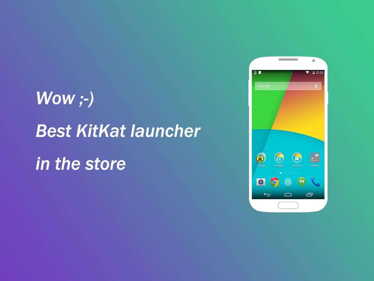KK Launcher (KitKat Android4.4 - screenshot