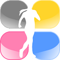 Pedometer for diet icon
