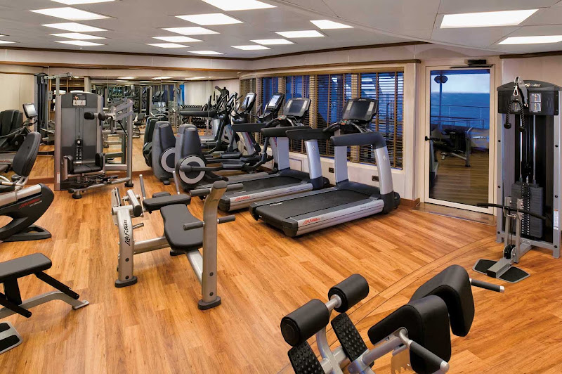 The Fitness Center on Silver Spirit hosts complimentary classes in aerobics, yoga, Pilates and circuit training and are led by the onboard fitness trainer.