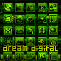 Dream Digital GoLauncher Theme logo