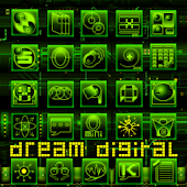 Dream Digital GoLauncher Theme