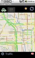 Screenshot of Chicago Traffic