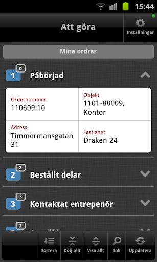 Teknisk Förvaltning DemoApp
