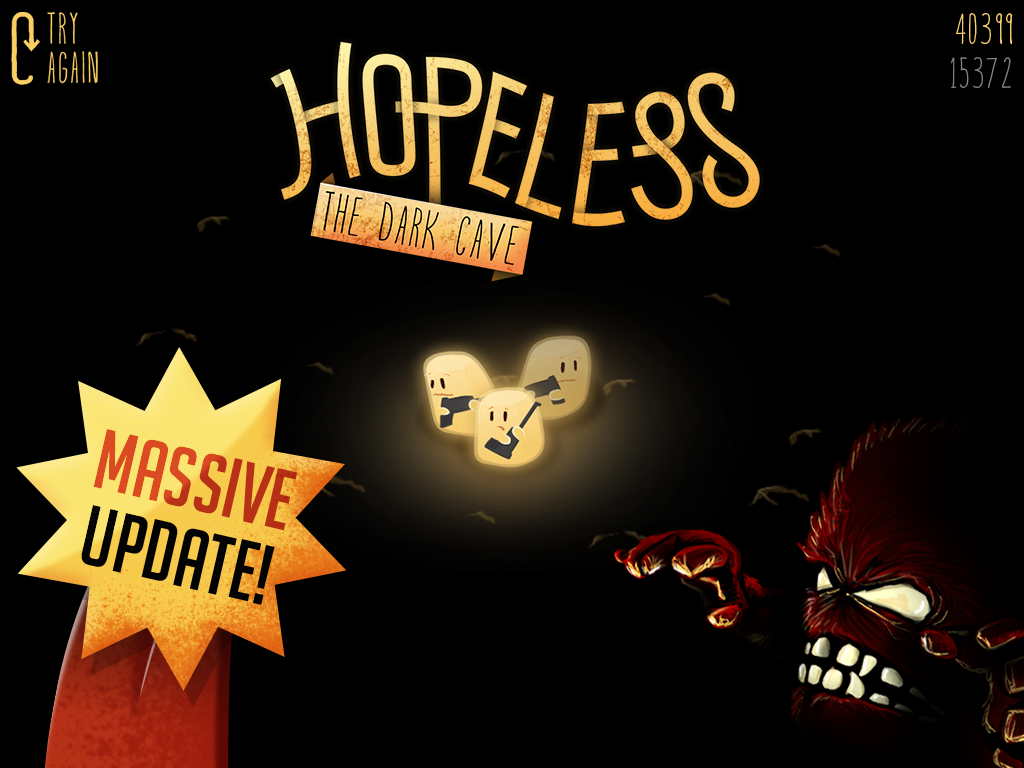 Hopeless: The Dark Cave - screenshot