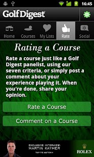 Golf Digest Course Critic- screenshot thumbnail