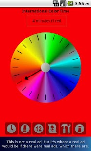 Color Time Clock Lite- screenshot thumbnail