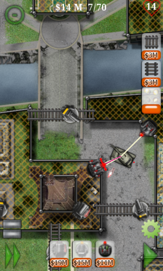Armored Defense II: Tower Game - screenshot