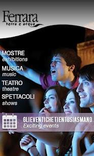Ferrara Eventi- screenshot thumbnail
