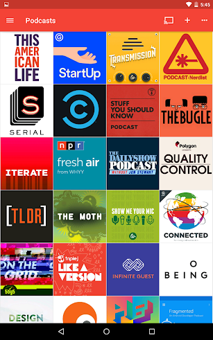 Pocket Casts screenshot for Android
