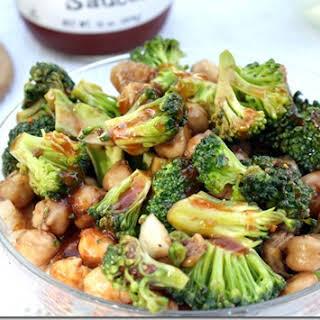 Chickpea Broccoli And Fig Salad.