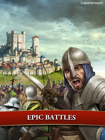android Lords & Knights - Strategy MMO Screenshot 9