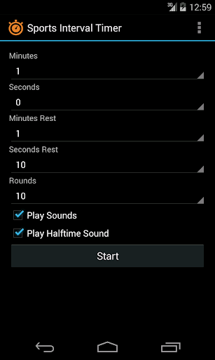 Sports Interval Timer