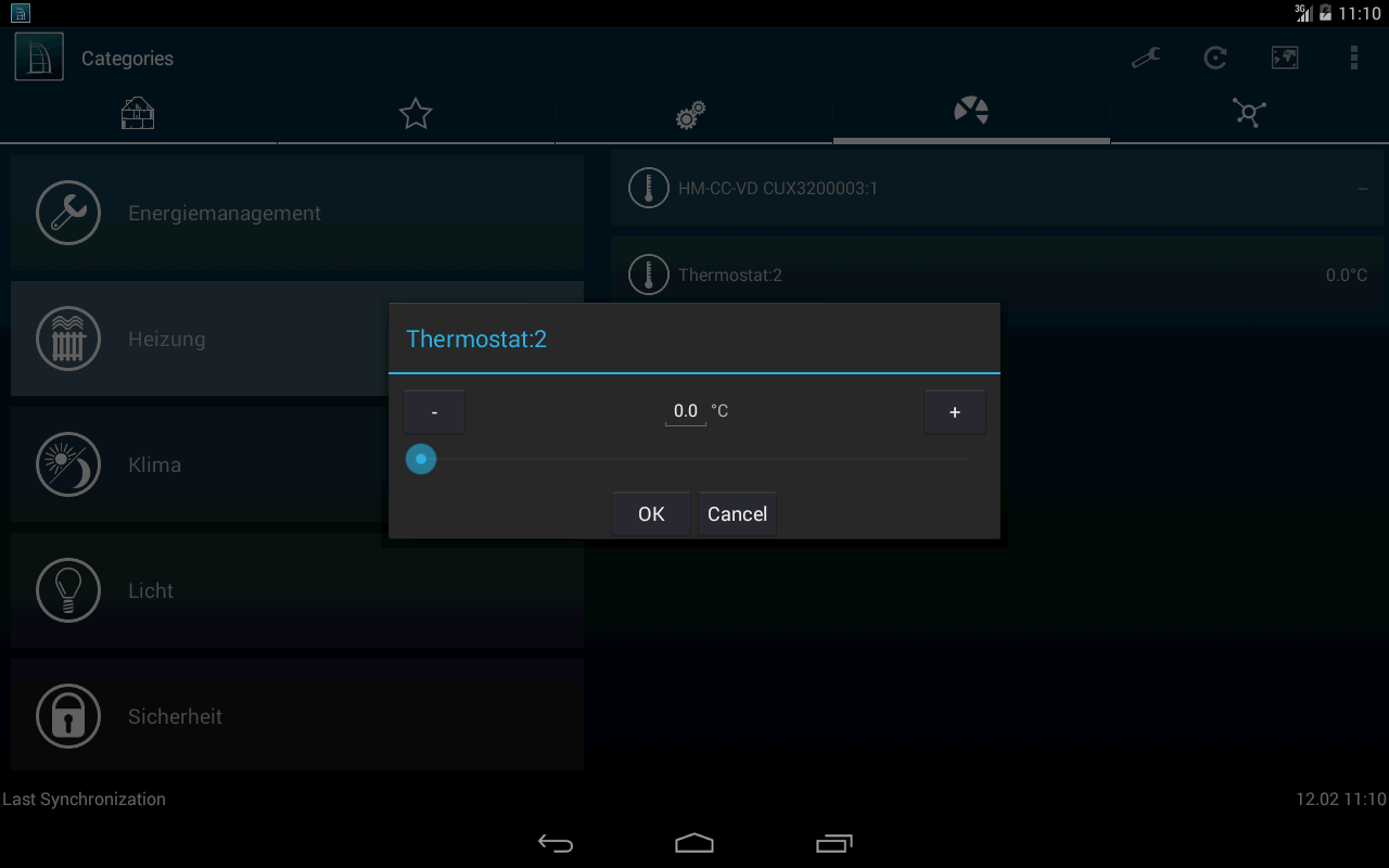 HomeDroid - HomeMatic Remote- screenshot