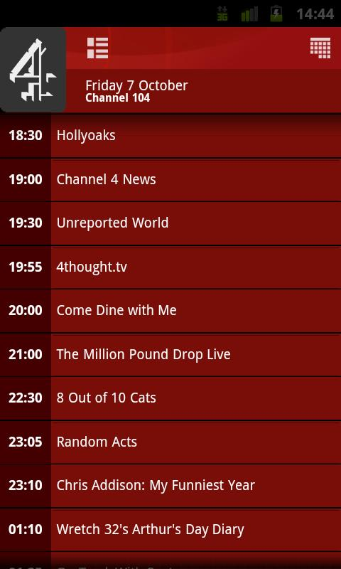 TV Guide - screenshot