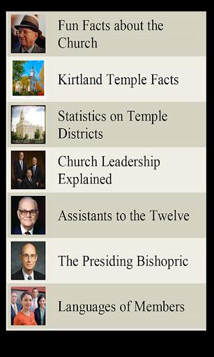 LDS Lists 3 Mormon