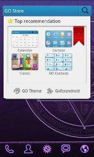 Magic Circle GO Launcher Theme - screenshot thumbnail