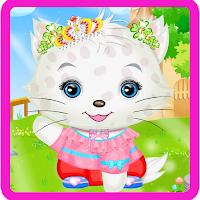 Screenshot of Princess Kitty Hair Salon
