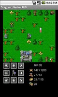 Screenshot of Dragon collector RPG