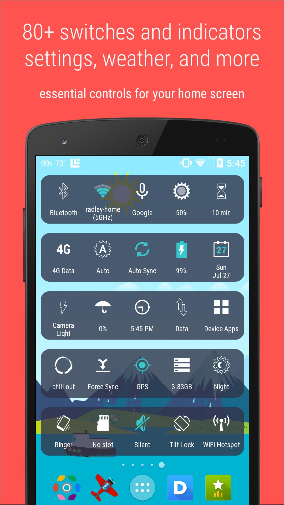 HD Widgets screenshot #6