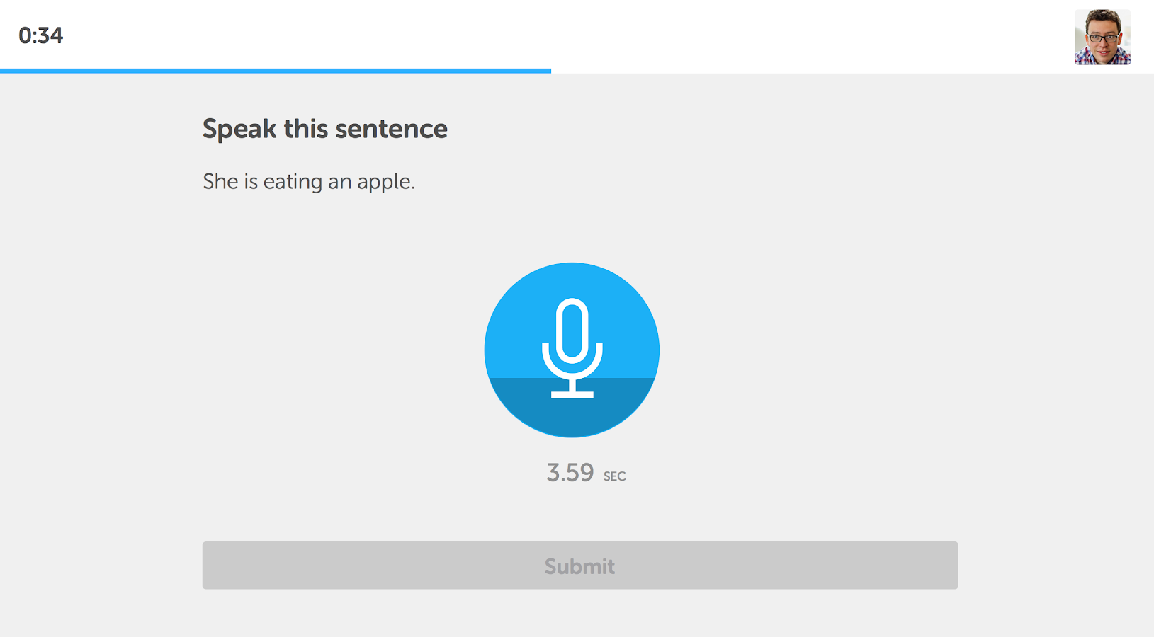 Duolingo Test Center - screenshot