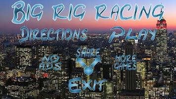 Screenshot of Big Rig Racing