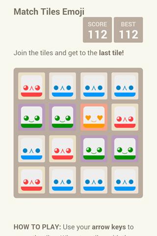Match Tiles Emoji