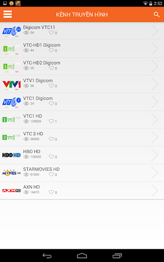 TV Vietnam Homeconnect
