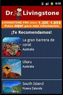 Agenda de Viajes Livingstone- screenshot thumbnail