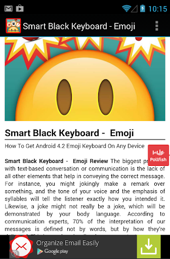 【免費娛樂App】Official Emoji White Keyboard-APP點子