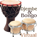 Virtual Djembe & Bongo icon