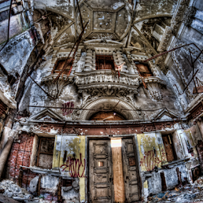 Built in 1885 as a Savings and Trust Bank in Philly by Dawn Robinson - Buildings & Architecture Decaying & Abandoned ( urban exploration, urbex, beauty in decay, urban decay, pa, architectural preservation, philly, historical significance, architectural history, abandoned bank, abandoned,  )